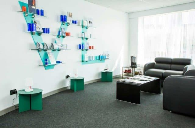 Reception Area at VL Aesthetics