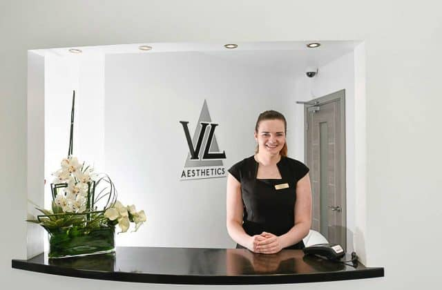 Reception at VL Aesthetics