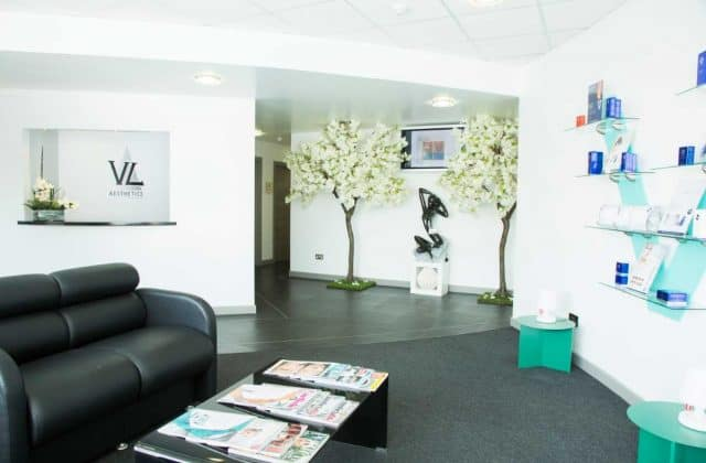 Reception Area at VL Aesthetics
