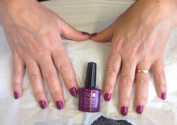 CND Shellac Gel Nails at VL Aesthetics