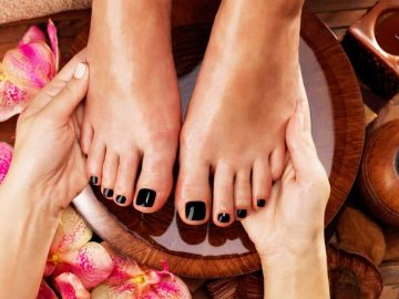 Pedicure at VL Aesthetics