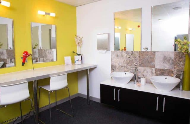 Changing Rooms at VL Aesthetics
