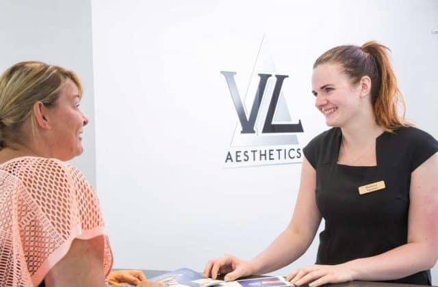 Reception at VL Aesthetics