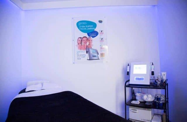 Treatment Room at VL Aesthetics